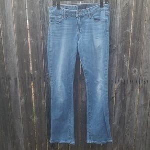 Lucky Brand boot cut light stonewashed jeans